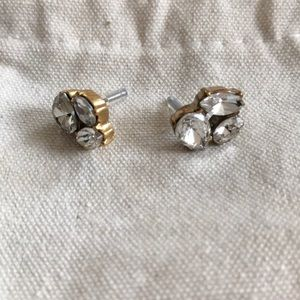 J.Crew sparkling earrings